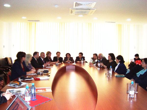 Круглый стол по вопросам доступности современной русскоязычной литературы в Армении