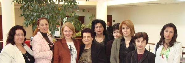 Армянские русисты с редактором журнала «Русский язык за рубежом» А.А. Шараборовой
