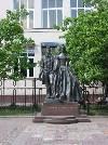 Памятник А.С. Пушкину и Гончаровой